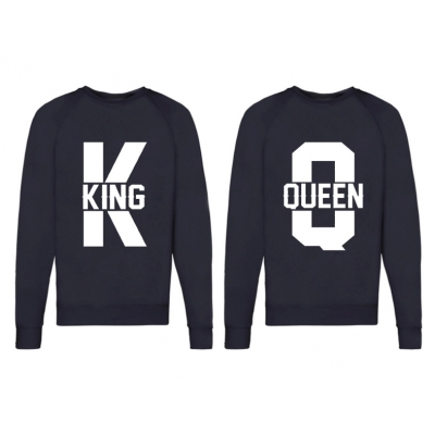 """Sweater """"King and Queen """""""